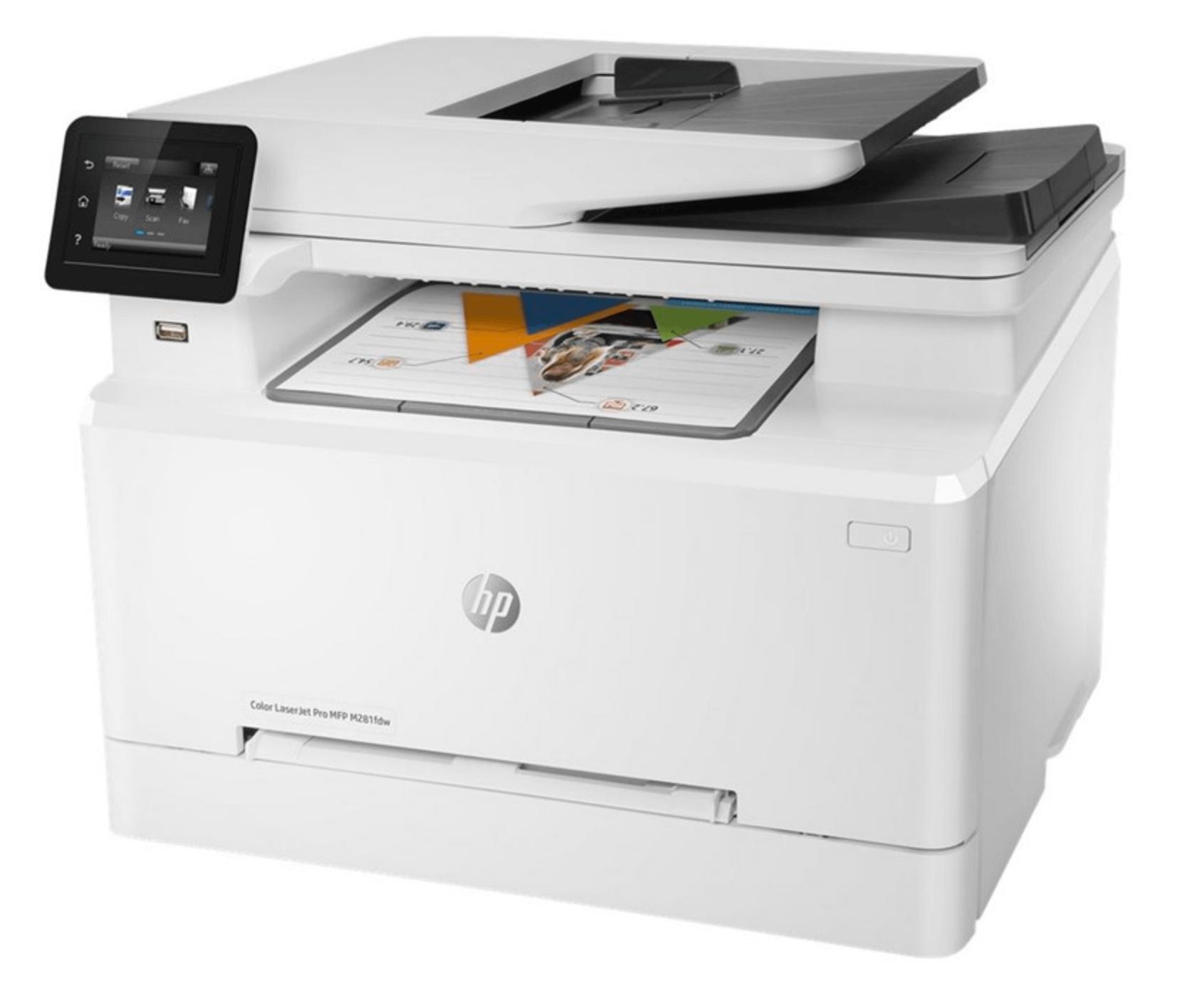 Printer bedst i test HP Color LaserJet Pro M281fdw