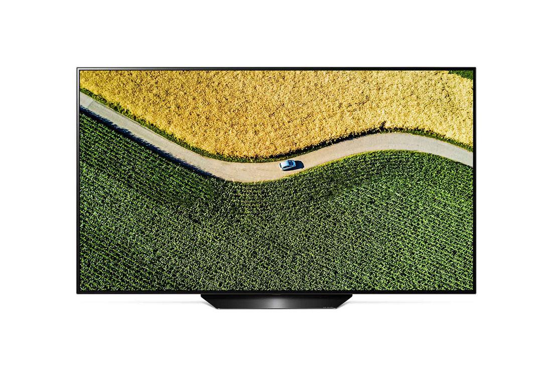 Bedst i test fladskærms tv LG OLED55B9