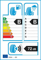 Från år 2012 måste alla däck har EU:s däckmärkning