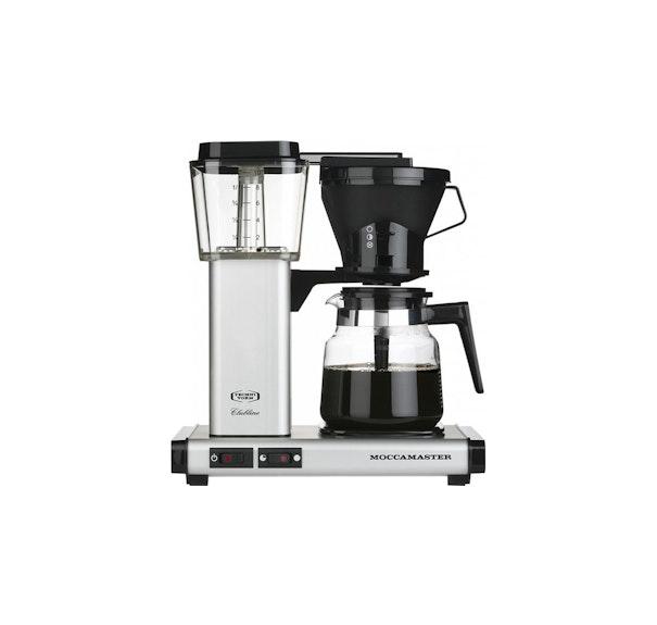 moccamaster kaffemaskine - bedst i test af kaffemaskiner - Moccamaster KB952 AO